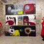 Malerei-Kunstwerke-1.Akt Red Girls